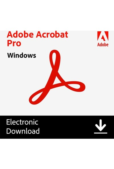 Adobe Acrobat Pro Dc Dijital Indirilebilir Lisans