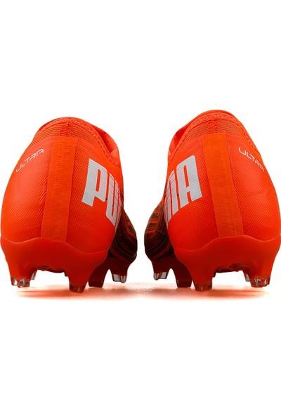 Puma Erkek Çim Zemin Kramponu 10608601 Turuncu Ultra 3.1 Fg Ag