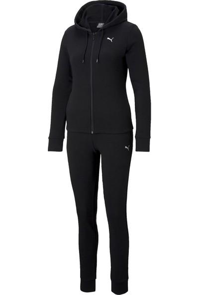Puma Kadın Günlük Eşofman Takımı 58596101 Siyah Classic Hd. Sweat Suit Tr
