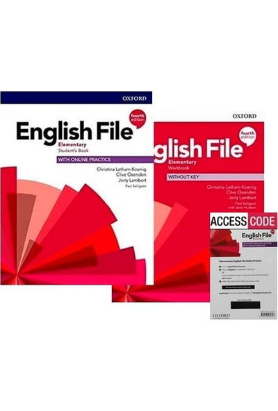 Oxford English File Elementary 4th. (Student's Book+Workbook+Access Code)