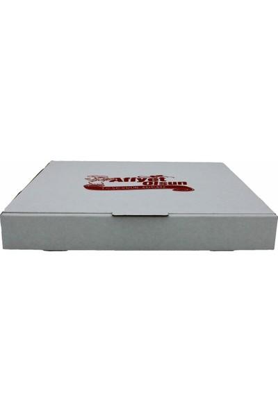 Pack Pizza Kutusu Beyaz 100 lü 35X35 cm