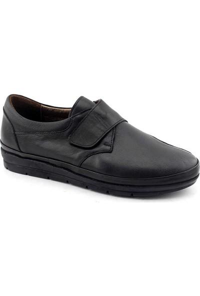 Kayra Deri Bayan Ayakkabı-Siyah