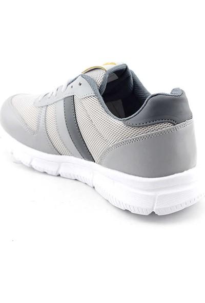 Liger 3003 Erkek Spor Ayakkabı-Buz Füme