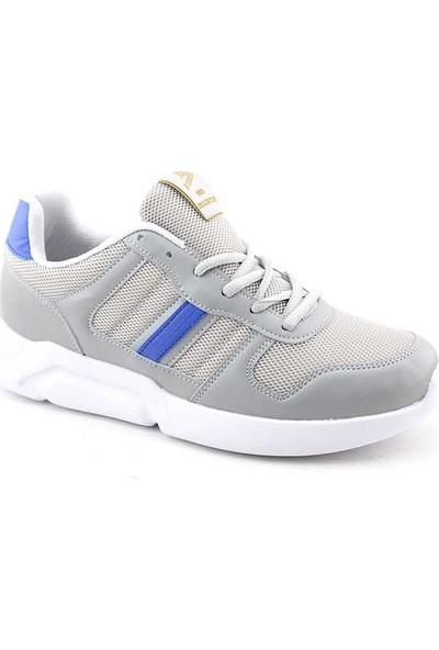 Liger 3027 Erkek Spor Ayakkabı-Buz Maviı Beyaz