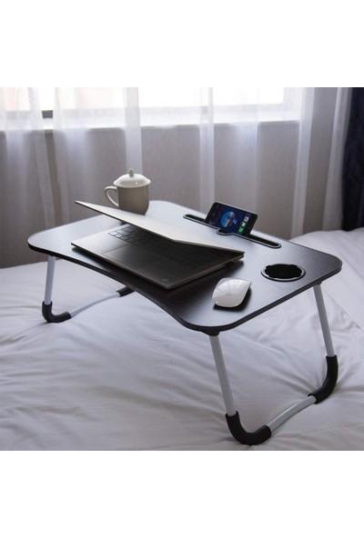 Hodbehod Yatak Koltuk Üstü Laptop Masası – Siyah