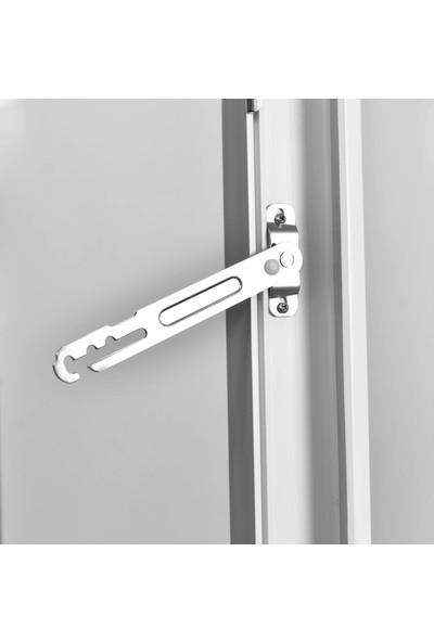 Eym Arwin Kapı Pencere Kademeli Havalandırma Kolu Pvc Emniyet Kilidi Sol Açılım