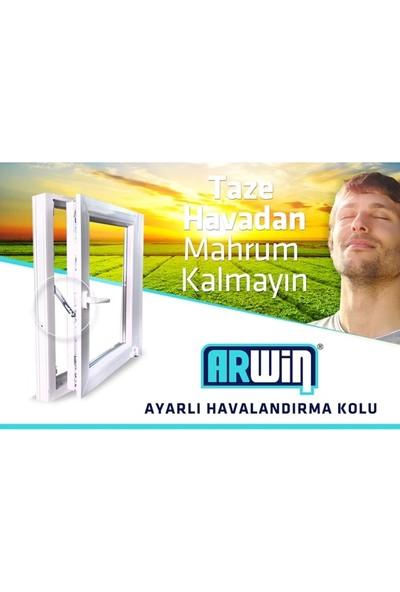 Eym Arwin Kapı Pencere Kademeli Havalandırma Kolu Pvc Emniyet Kilidi Sağ Açılım