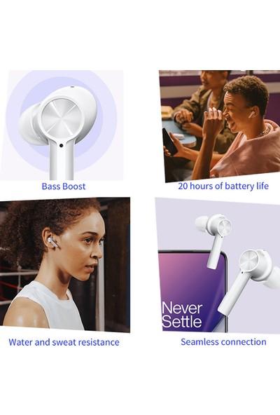 Oneplus Z Tws Kablosuz Bluetooth 5.0 Kulaklık - Beyaz (Yurt Dışından)