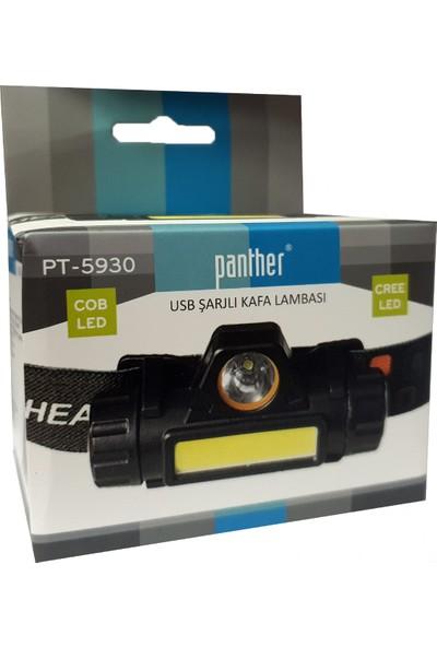 Panther PT-5930 Şarjlı Kafa Lambası