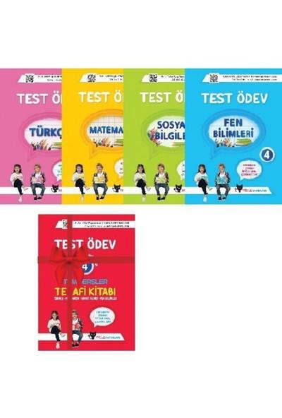 Sadık Uygun Yayınları 4. Sınıf Test Ödev Kitapları Türkçe- Matematik Fen Hayat Bilgi