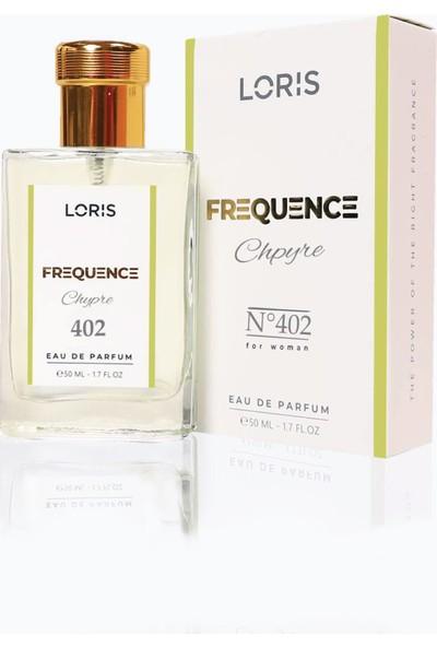 Loris K-402 Frequence Parfume Edp 50 ml Cyhpre-Meyve Kadın Parfüm