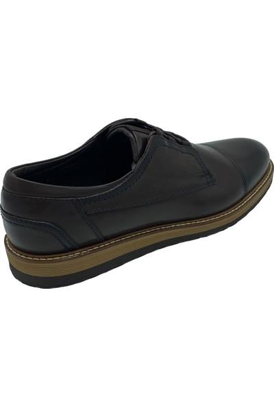 F.Marcetti 72826-00 Komple Kahve Deri Ayakkabı