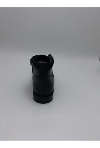 James Franco M411 Siyah Antik Erkek Bot