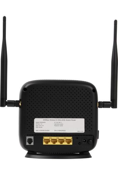 Krn DS224WSU 300 Mbps Wireless N Vdsl2 Modem Router 10 Adet