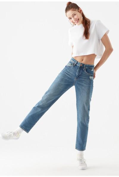 Mavi Kadın Soho Gölgeli Mavi Jean Pantolon 101213-34128