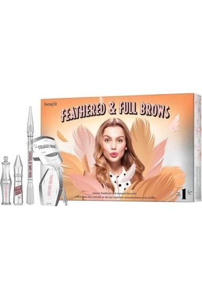 Benefıt Cosmetıcs Benefit Feathered & Full Brow Kit Teinte N°1