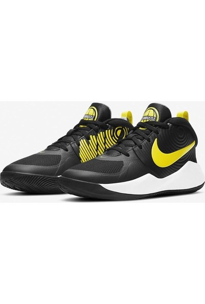 Nike AQ4224-013 Team Hustle Basketbol Ayakkabısı