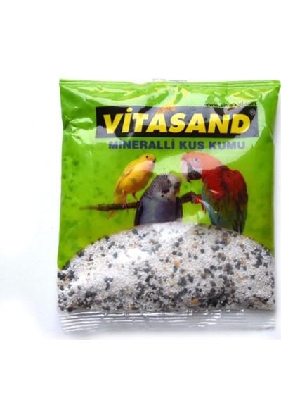 Vitasand Mineralli ve Kömürlü Kuş Kumu [beyaz]