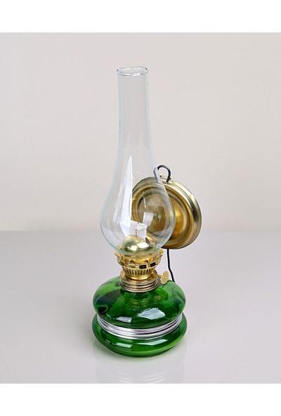 Kristal Cam Nostaljik Gaz Lambası