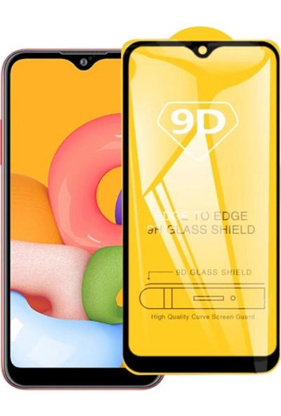 Yakuppolt Samsung Galaxy A20 Için 9d Tempered Kırılmaz Cam Ekran Koruyucu Film