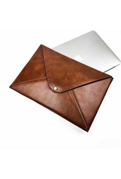 Misingpiece MSPZARFCNT123KAHMİSİNGPİECE 13 Inç Laptop, Macbook, Tablet Kılıfı, A4 Kağıt Evrak Çantası, Portföy Çanta