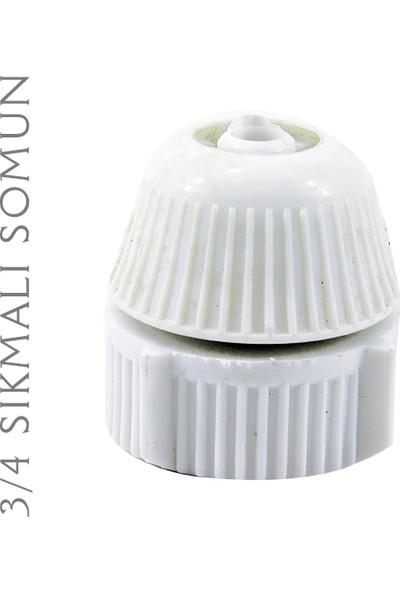 Plasyay Spiral Duş Hortumu ve Seti Beyaz 1.5 Metre