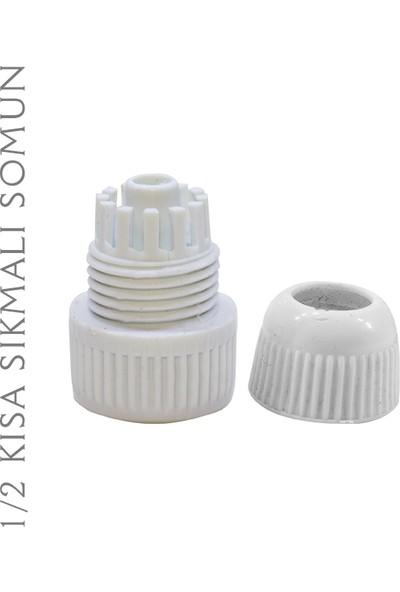 Plasyay Spiral Duş Hortumu ve Seti Beyaz 2.5 Metre