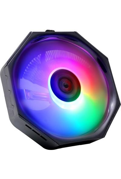 Turbox Tb-Rainbow Combo LGA775+1151+1155+1156+AM2+AM3 Işlemci Fanı