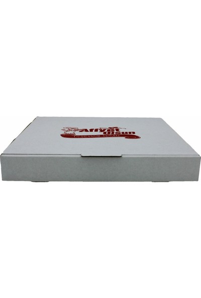 Pack Pizza Kutusu Beyaz 100 Adet 33X33 Cm.