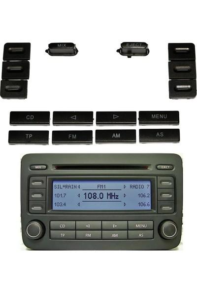 Parçazamanı Volkswagen Passat B7 2010 - 2014 Radyo Parça Tuş Düğmesi