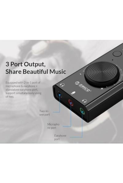 Orico USB Çok Fonksiyonlu Tak Çalıştır Ses Kartı (Yurt Dışından)