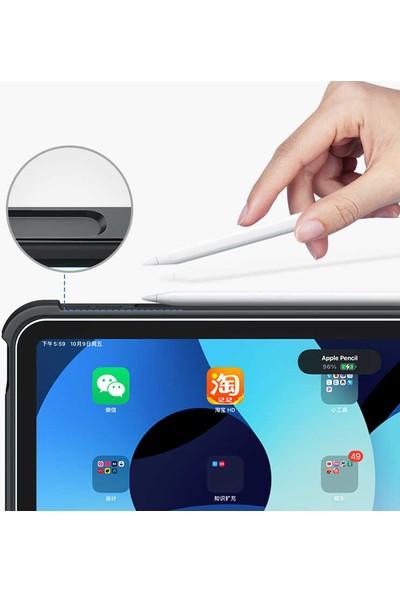 Benks Apple iPad Pro 10.5 (7.nesil) Benks Multifunctional Kablosuz Klavyeli Kılıf Siyah