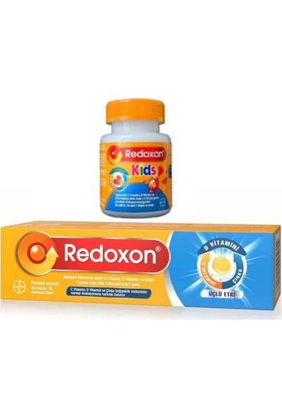 Redoxon Kids + Yetişkin C Vitamini D Vitamini ve Çinko