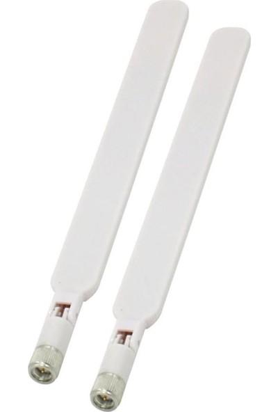 Electroon Superbox 4.5g Modem Anten 5dbi Beyaz 2 Adet