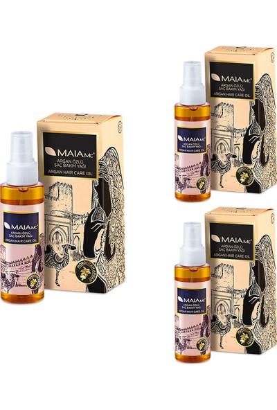 Maia Mc Argan Saç Bakım Yağı 120 ml x 3 Adet