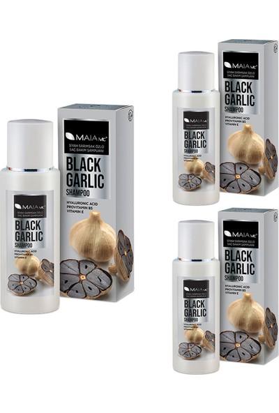 Maia Mc Siyah Sarımsak Şampuanı Aloe Vera Ilaveli 400 ml x 3 Adet