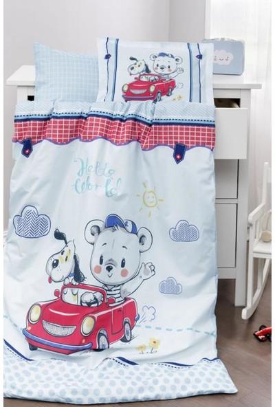 Özdilek Hello Battaniyeli Bebek Nevresim Takım