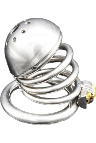 Censan Bdsm Paslanmaz Çelik Penis Kafesi Modelno5