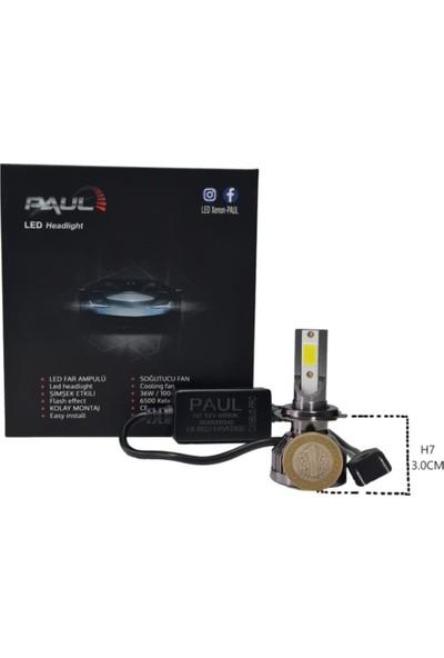 Paulled H7 Mini Pro Canbus LED Xenon -Şimşek Etkili