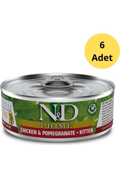N&d Prime Kitten Tavuklu Yavru Kedi Konservesi 80 G x 6 Adet