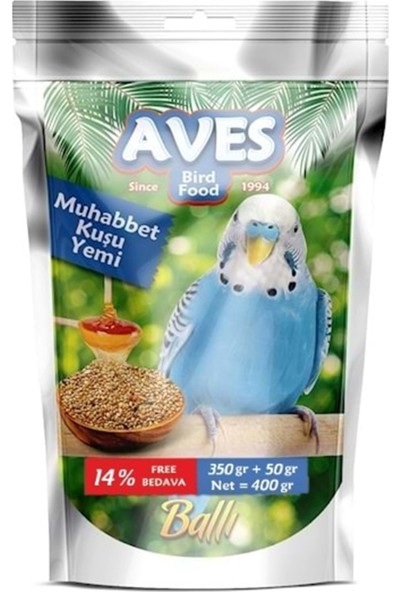 Aves Muhabbet Yemi 350+50 400 gr