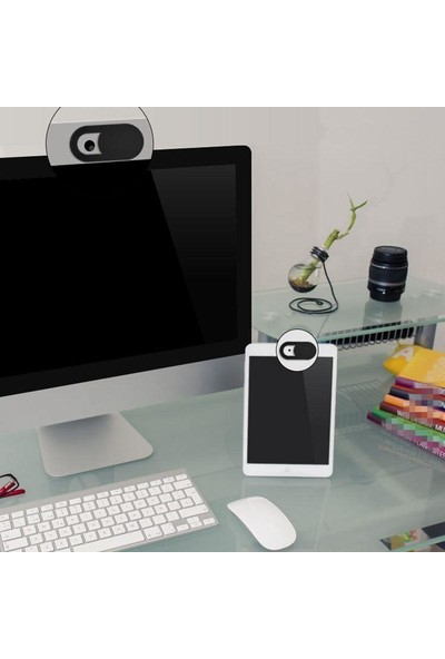 Spelt Laptop Tablet Kamera Kapatıcı Örtücü Sürgülü Kapak 3'lü