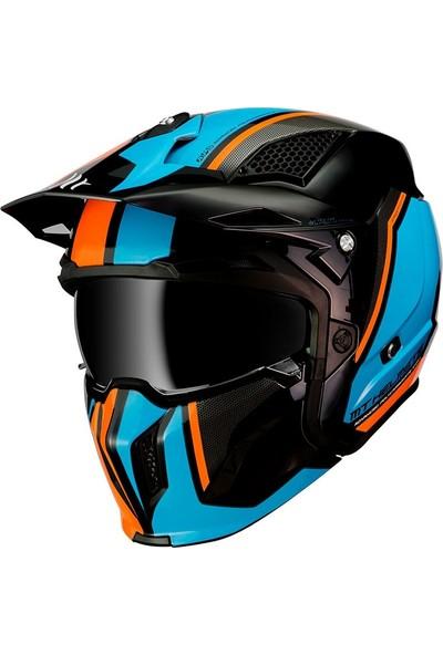 Mt StreetFighter Sv Twin A4 Modüler Motosiklet Kaskı L Beden