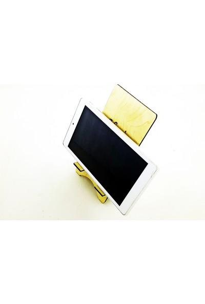 Syz Dekoratif Isme Özel Telefon Tablet Tutucu