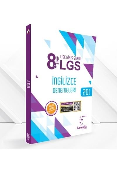 Karekök Yayıncılık 8. Sınıf LGS İngilizce Denemeleri