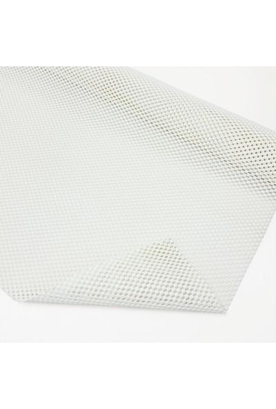 Polset Halı Kilim Yolluk Kaydırmaz 60CM x 500CM Beyaz