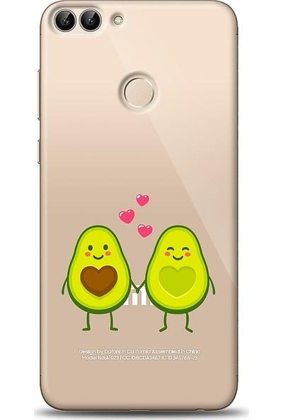 Eiroo Xiaomi Mi 8 Lite Avocado Lover Baskılı Tasarım Kılıf