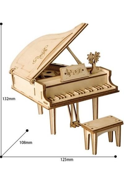 Robotime 3D Ahşap Puzzle Piano