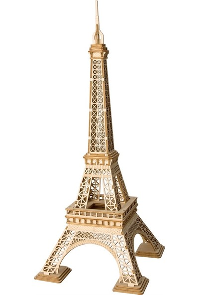 Robotime 3D Ahşap Puzzle Eyfel Kulesi