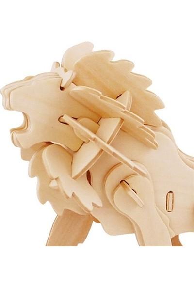 Robotime 3D Ahşap Puzzle Aslan